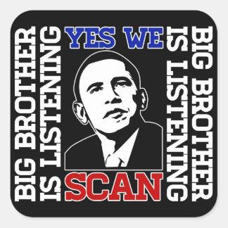 Obama exploramos sí al pegatina