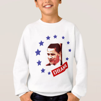 obama face and stars sweatshirt