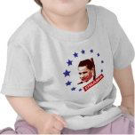obama face and stars t-shirts