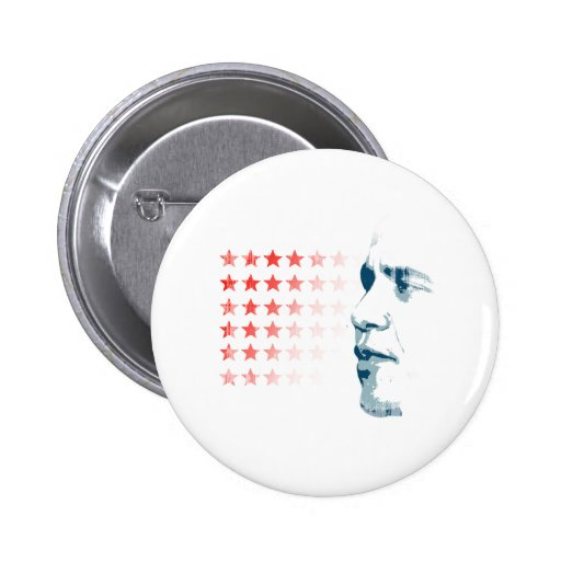 Obama Face and Stars Vintage.png Buttons