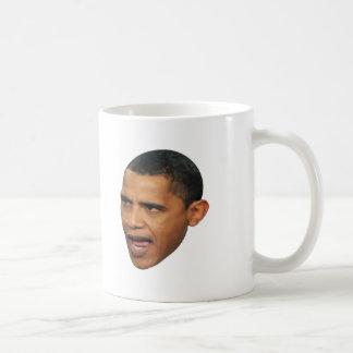 OBAMA FACE COFFEE MUGS
