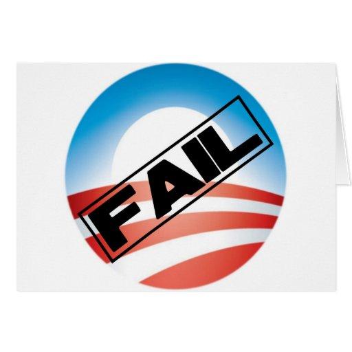 Obama: Fail Card