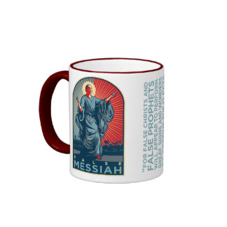 Obama False Messiah Ringer Mug