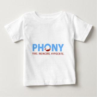 Obama falso tee shirt