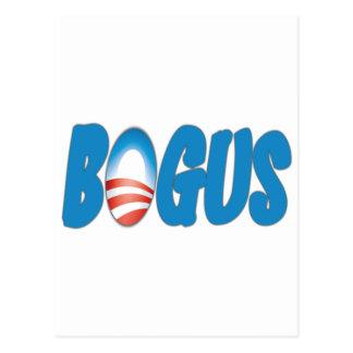 Obama: Falso Postal