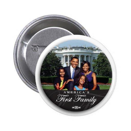 """Obama Family 2"""" Button"""