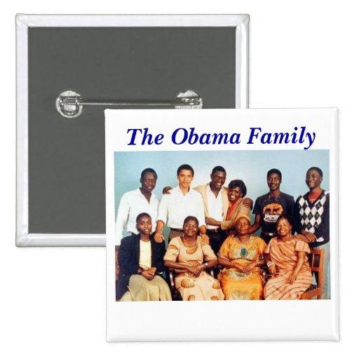 Obama Family Button
