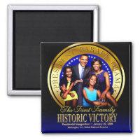 Obama Family Seal Magnet