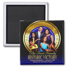 Obama Family Seal Magnet at Zazzle