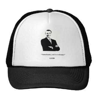 Obama Fans' Prayers Are Answered! Hats