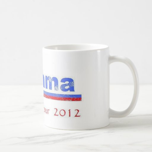 Obama Farewell Tour 2012 Coffee Mug