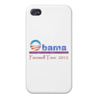 Obama Farewell Tour 2012 iPhone 4/4S Cover