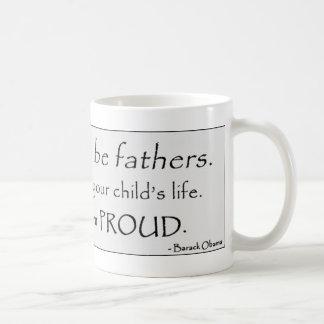 Obama Fathers large mug