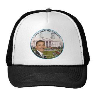 Obama FDR JFK Hope Has Returned Jan 20, 2009 Trucker Hat