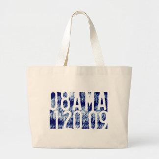 Obama Fireworks Inauguration Jumbo Tote Bag
