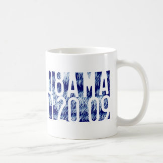 Obama Fireworks Inauguration Classic White Coffee Mug