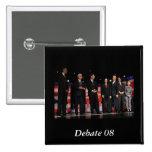 Obama-First Debate Pins