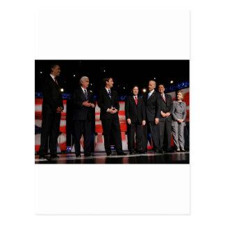 Obama-First Debate Postcard