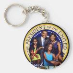 obama-first-family keychain