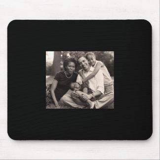 Obama-First Family Mouse Pad