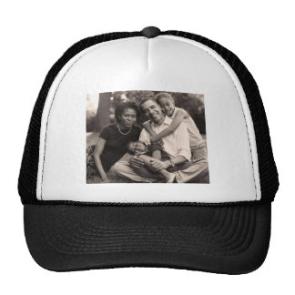 Obama-First Family Trucker Hat