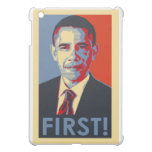 Obama FIRST! fitted hard shell ipad case