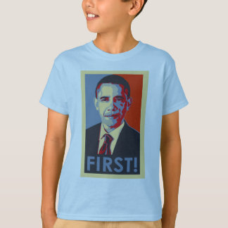 Obama FIRST! Kid's tee