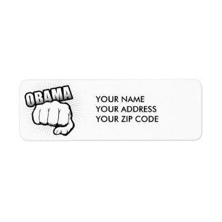 OBAMA FIST BUMP -.png Custom Return Address Labels