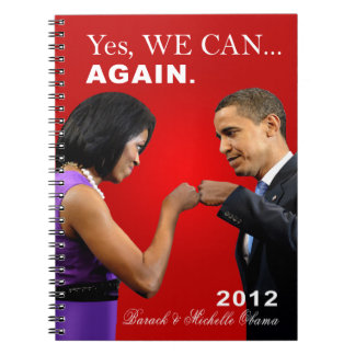 Obama Fist Bump - Yes we can, again Notebook