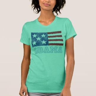 OBAMA Flag T-Shirt