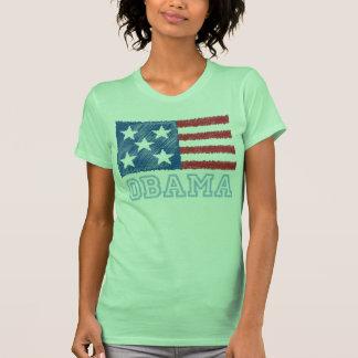 OBAMA Flag Shirt