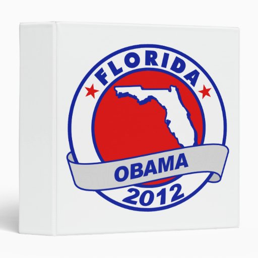 Obama - Florida Vinyl Binder