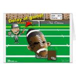 Obama Football Greeting Card