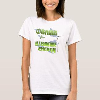 Obama for Alternative Energy Womens Shirt
