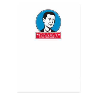 Obama For American President Business Card Templates