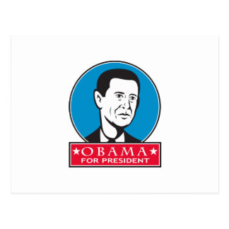 Obama For American President Post Card