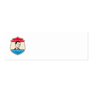 Obama For American President Shield Business Card Template