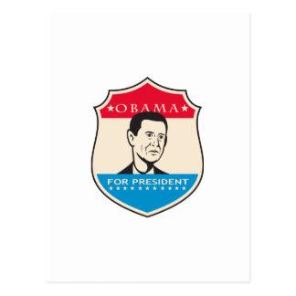Obama For American President Shield Postcards
