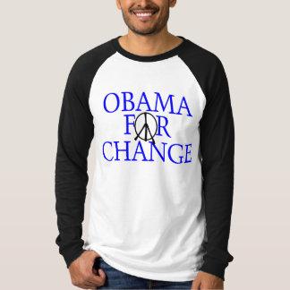 Obama For Change (Blue) Shirt