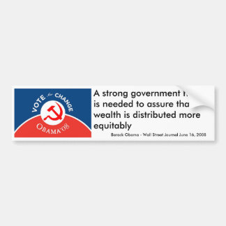 Obama for Change - Bumper Sticker