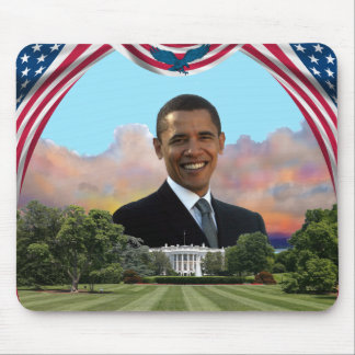 OBAMA For Change Mouse Pad