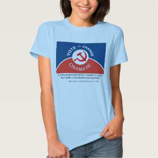 Obama for Change - Womens T-Shirt