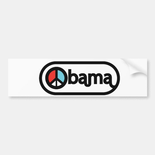 Obama for Peace Bumper Sticker