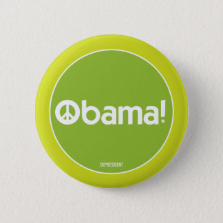 Obama for Peace Green Button