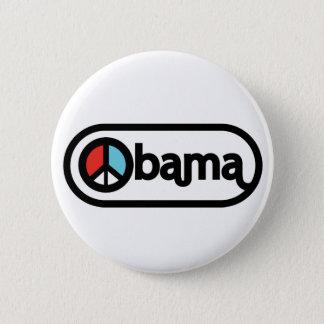 Obama for peace pinback button
