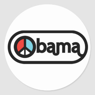 Obama for Peace Stickers