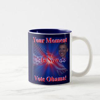 Obama for President '12 Two-Tone Coffee Mug
