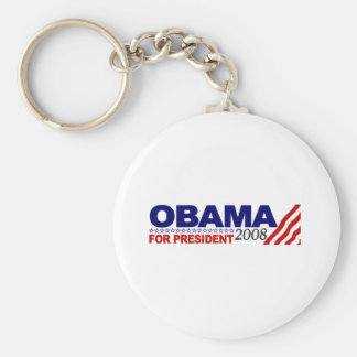 Obama For President 2008 Keychain