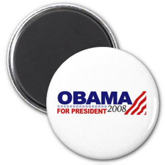 Obama For President 2008 Magnet