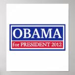 Obama for President 2012 Print